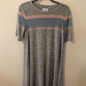 Comfy Lou & Grey Swing T-shirt Dress